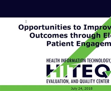 Opportunities to Improve Diabetes Outcomes through Electronic Patient Engagement