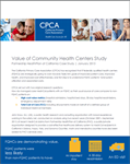 Value of Community Health Centers Study